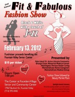 Fit & Fabulous Fashion Show flyer